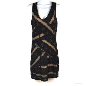 JUST ME Lined Dress Sz L $80!